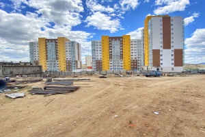 foto Apartment buildings, Mongolia - after